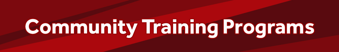 Community Training Programs